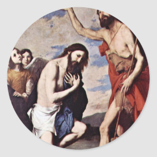 Ribera José Classic Round Sticker