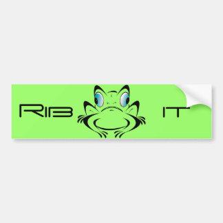 Ribit Bumper Sticker