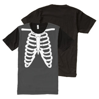 Ribs All-Over Print T-Shirt