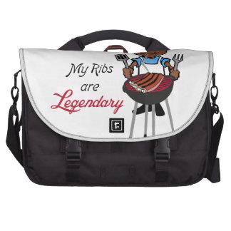 Ribs Are Legendary Laptop Commuter Bag