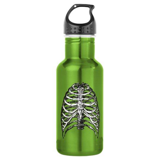 Ribs illustration - ribs art 532 ml water bottle