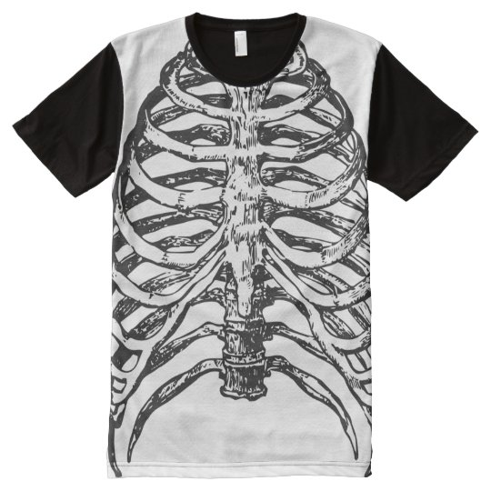 Ribs illustration - ribs art All-Over print T-Shirt