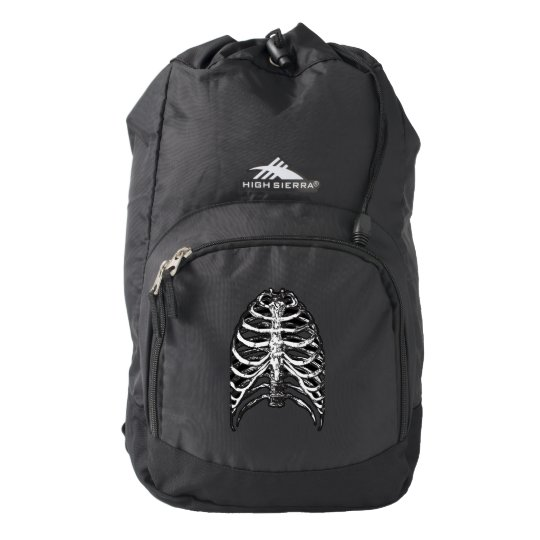 Ribs illustration - ribs art backpack