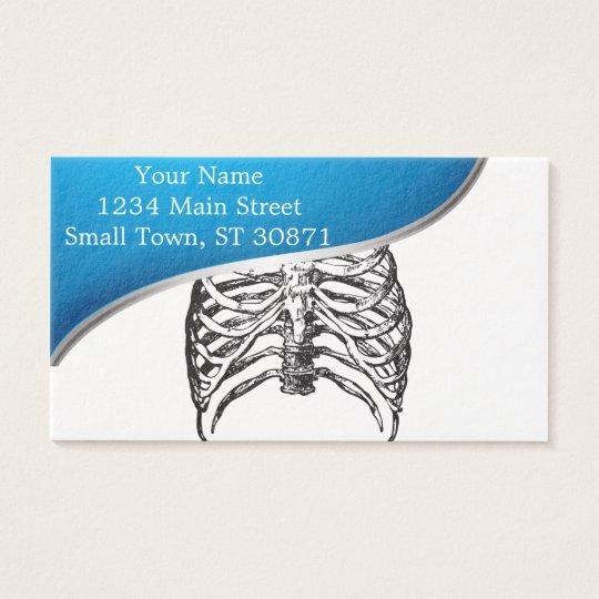 Ribs illustration - ribs art business card