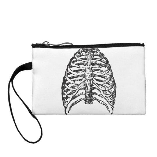 Ribs illustration - ribs art coin purse