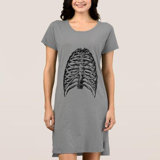 Ribs illustration - ribs art dress