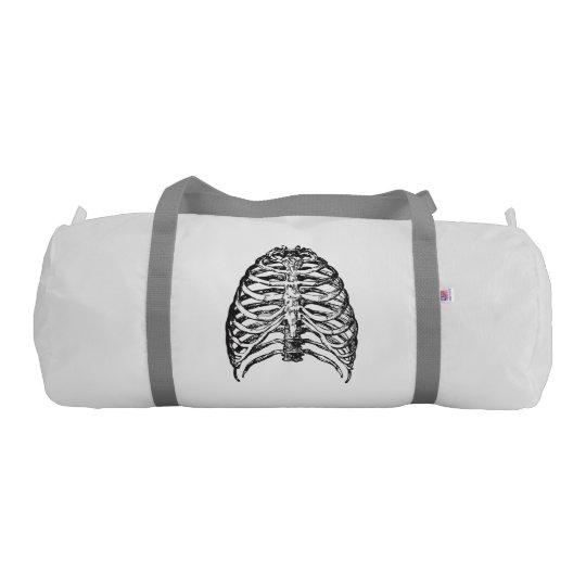 Ribs illustration - ribs art gym bag