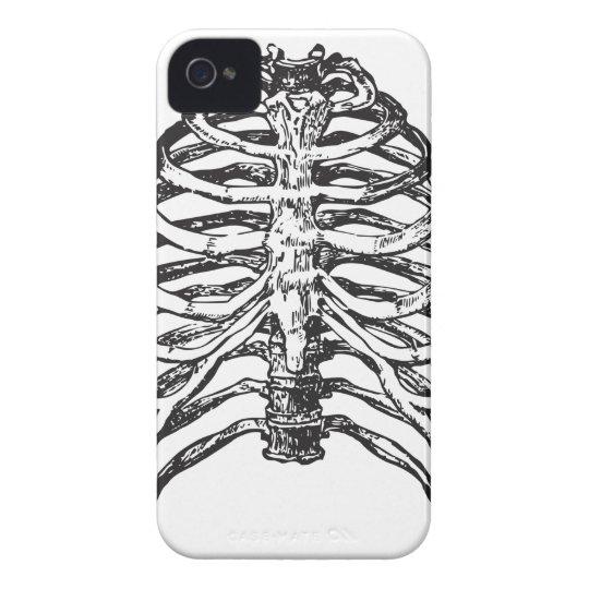 Ribs illustration - ribs art iPhone 4 covers