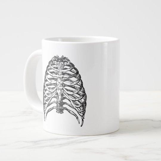 Ribs illustration - ribs art large coffee mug