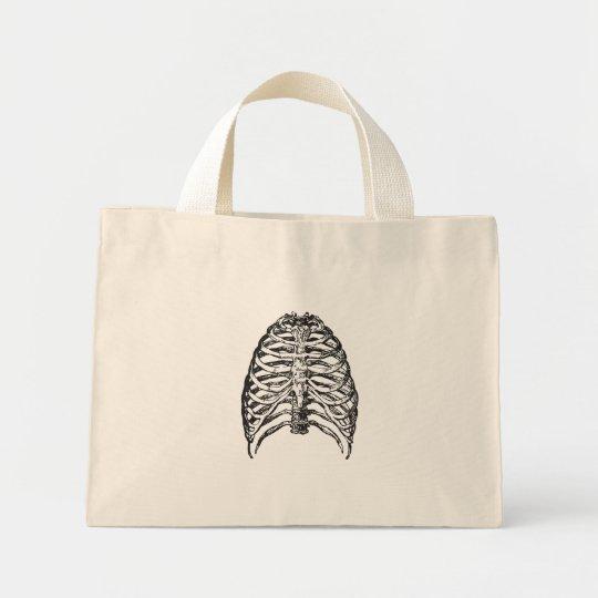 Ribs illustration - ribs art mini tote bag