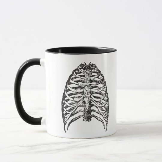 Ribs illustration - ribs art mug