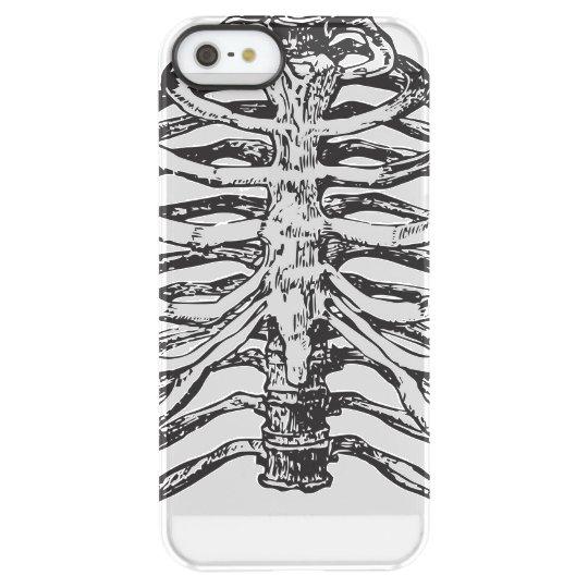 Ribs illustration - ribs art permafrost® iPhone SE/5/5s case
