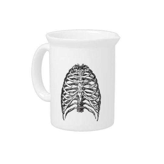 Ribs illustration - ribs art pitcher