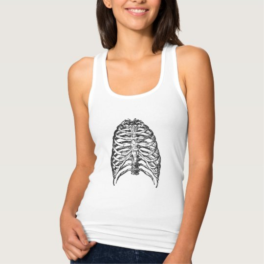 Ribs illustration - ribs art singlet