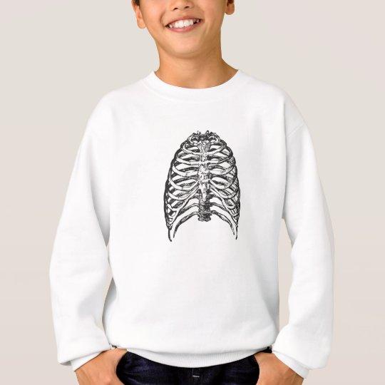 Ribs illustration - ribs art sweatshirt