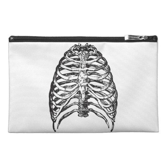 Ribs illustration - ribs art travel accessory bag
