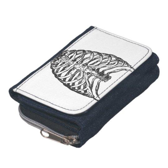 Ribs illustration - ribs art wallet