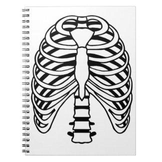 Ribs Spiral Notebook