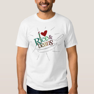 Rice and Beans for Boys Tee Shirt
