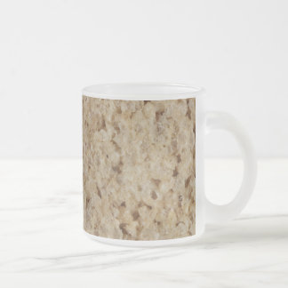 Rice Crispy Treat Frosted Glass Coffee Mug