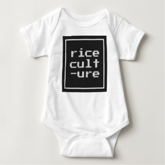 Rice Culture with frame Baby Bodysuit