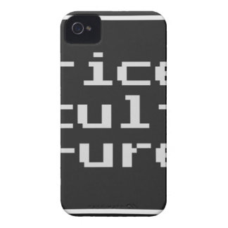 Rice Culture with frame iPhone 4 Case-Mate Cases