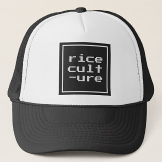 Rice Culture with frame Trucker Hat
