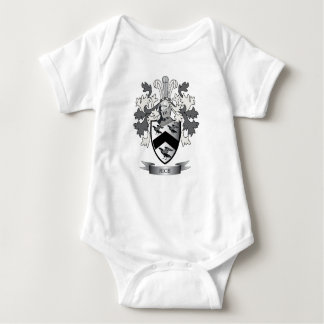 Rice Family Crest Coat of Arms Baby Bodysuit
