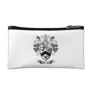 Rice Family Crest Coat of Arms Cosmetic Bag
