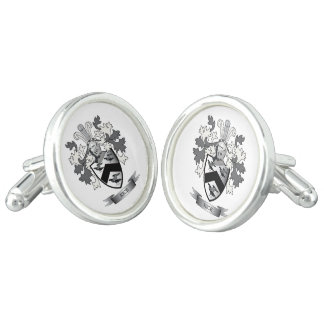 Rice Family Crest Coat of Arms Cuff Links