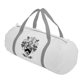 Rice Family Crest Coat of Arms Gym Bag