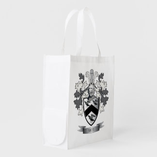 Rice Family Crest Coat of Arms Reusable Grocery Bag
