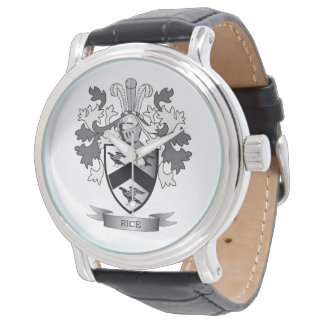 Rice Family Crest Coat of Arms Watch