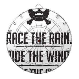 Rice in The Rain Dartboard