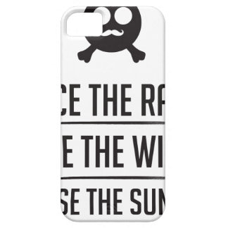 Rice in The Rain iPhone 5 Cover