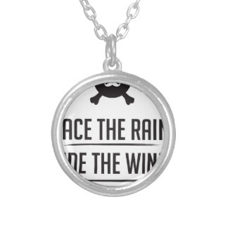 Rice in The Rain Silver Plated Necklace