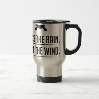 Rice in The Rain Travel Mug