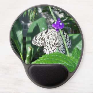 Rice Paper Butterfly Gel Mouse Pad