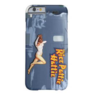 Rice Pattie B-24 Nose Art (Vintage Fuselage) Barely There iPhone 6 Case