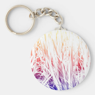 Rice plant key ring