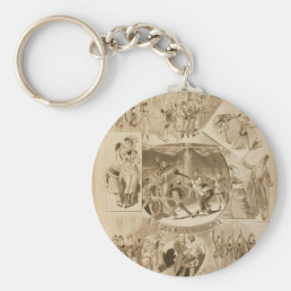 Rice s Surprise Party Horrors Retro Theater Key Chain