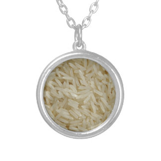 Rice Silver Plated Necklace