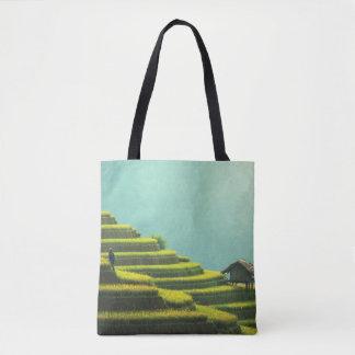 Rice Terraces Tote Bag