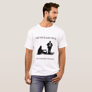 RICH AND POOR GRAPHIC TSHIRT