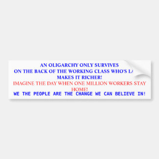 RICH BUMPER STICKER
