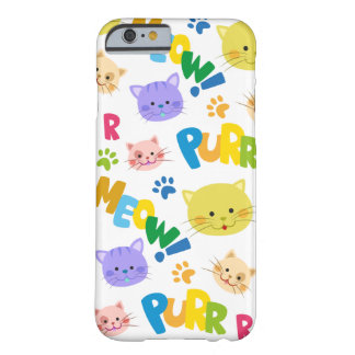 Rich colored happy cats children's iphone case