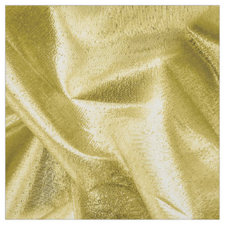Rich Crumpled Metallic Gold Faux Lame' Fabric