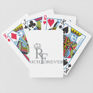 Rich forever_11.ai bicycle playing cards
