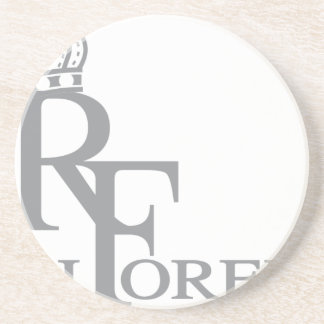 Rich forever_11.ai sandstone coaster