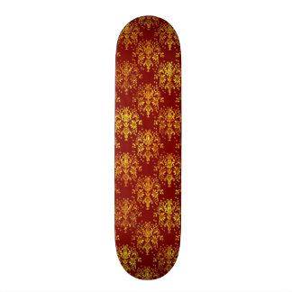 Rich Holiday Damask 21.3 Cm Mini Skateboard Deck